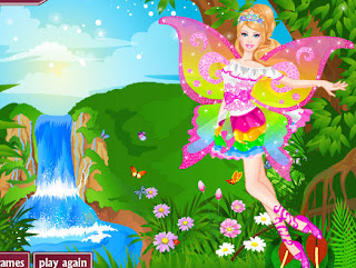 Juego de vestir a Barbie Hada