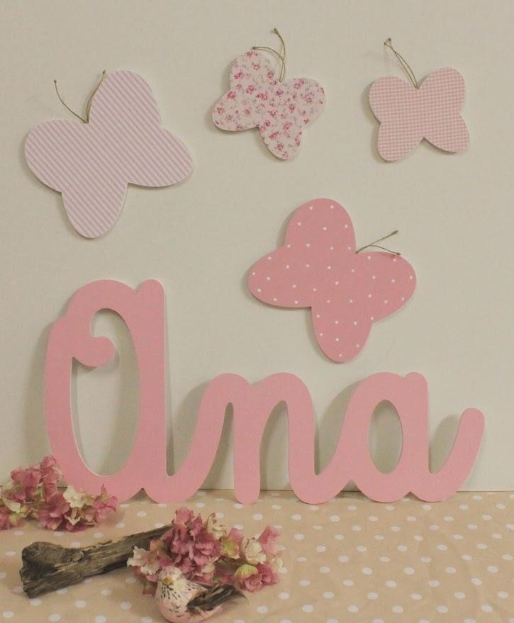 julio letras y nombres para decorar rincones y espacios infantiles