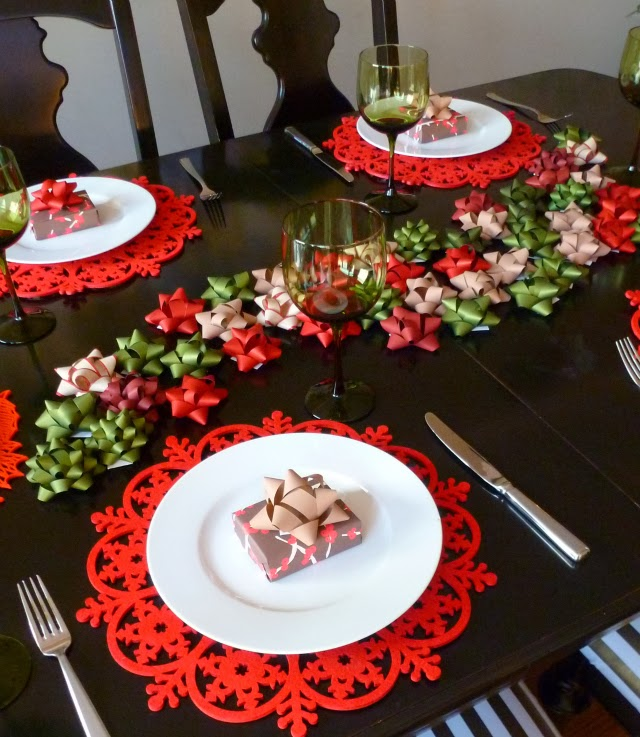 25 id es pour votre table de no l blog d co mydecolab - Idee de decoration de table de noel ...
