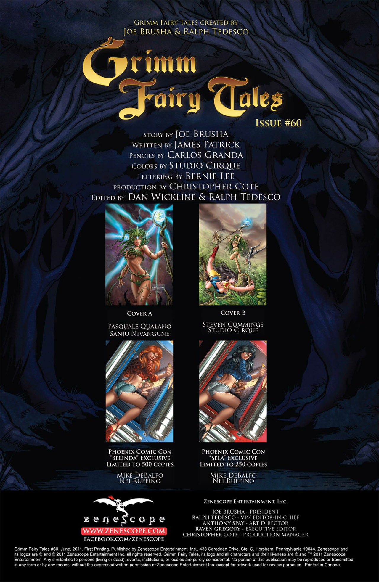 Grimm Fairy Tales (2005) Issue #60 #63 - English 2