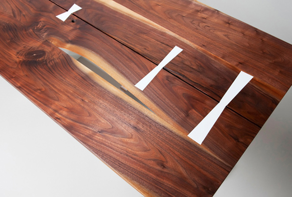 Original Making Custom Cut Butterfly Joints  WWGOA Custom Woodworking