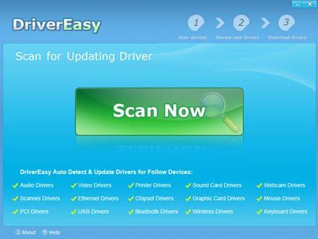 Driver Easy - tự động nhận dạng và tìm driver cho thiết bị
