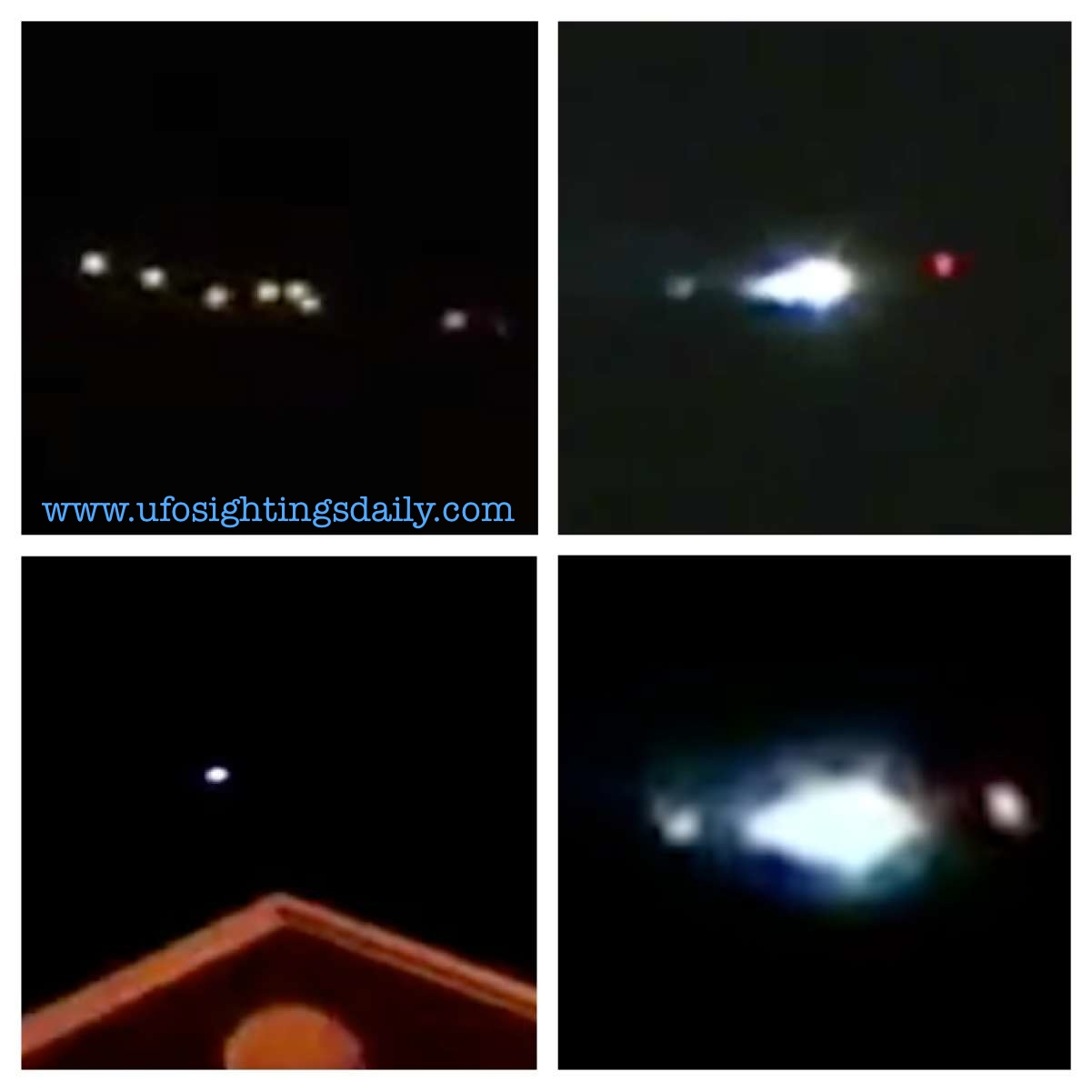 UFO SIGHTINGS DAILY: UFOs Hovering Over Homes In North ...