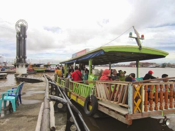 Brondol 30 Wisata Air Sungai Kapuas Pontianak