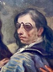 Lucas Jordán con anteojos
