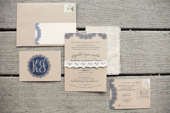 Burlap Blue Barn Wedding
