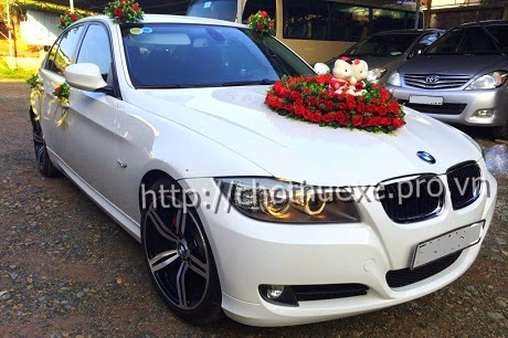 Đức Vinh Trans cho thuê xe cưới BMW 320i - xe hạng sang 1