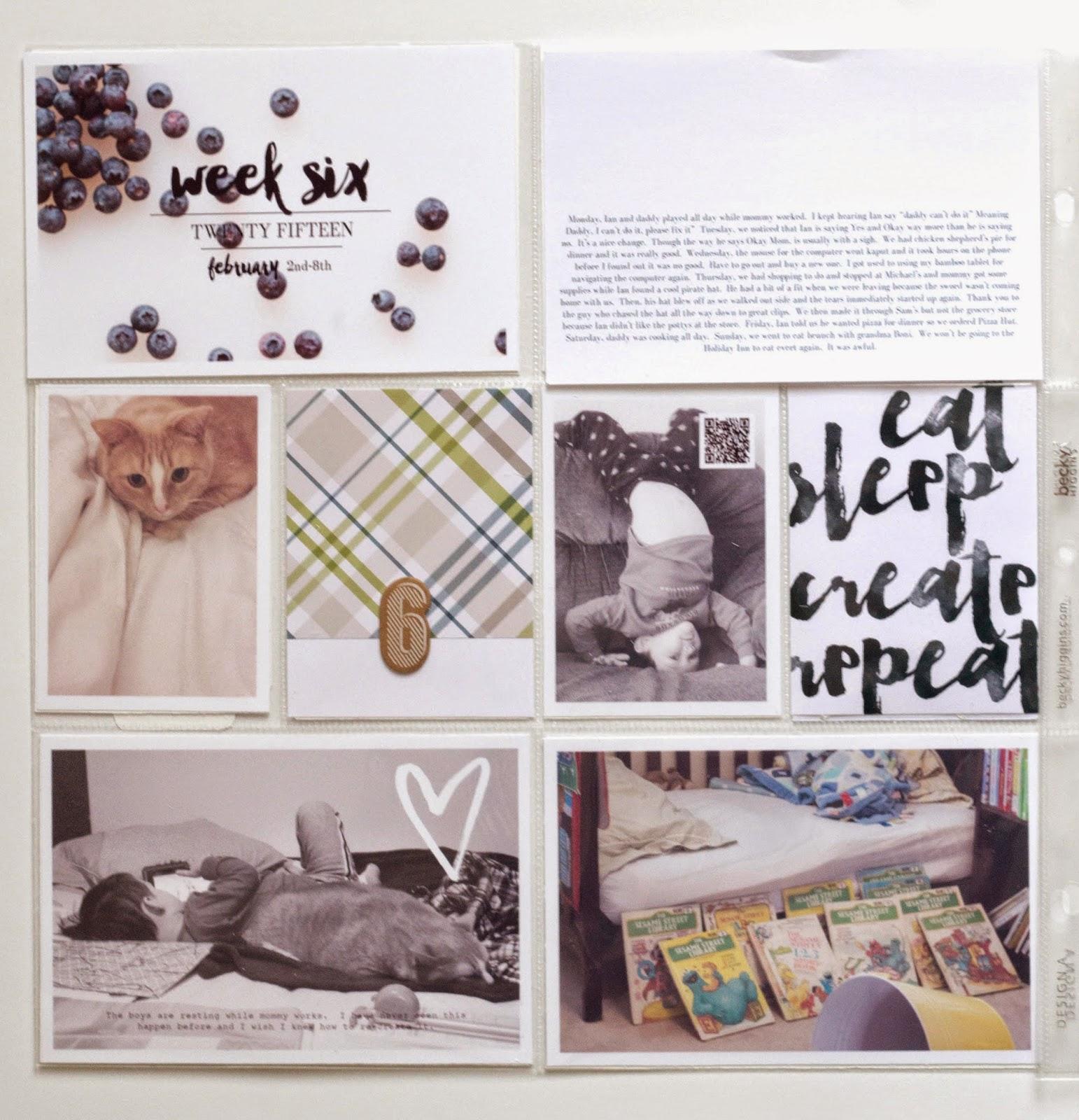 Little Lamm & Co, Project Life , scrapbooking,  memorykeeping, printables, digital scrapbooking, digital project life, mobile project life