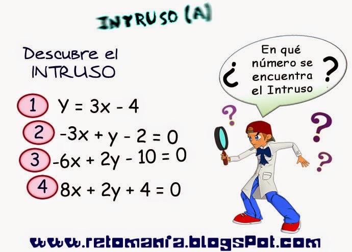Descubre el número, ¿Cuál es el número que falta?, Retos matemáticos, Retos para pensar, Piensa Rápido, Desafíos matemáticos, Problemas matemáticos, El Intruso