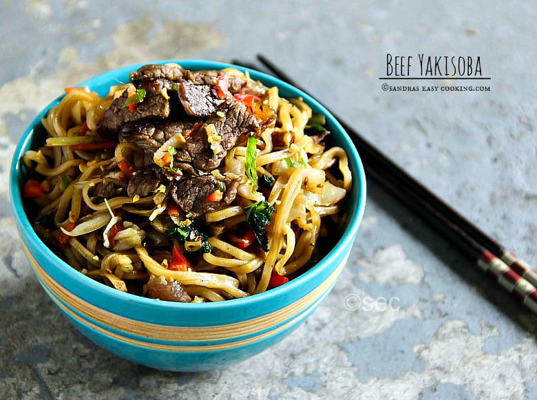 Beef Yakisoba #Recipe #homemade #food #foodie