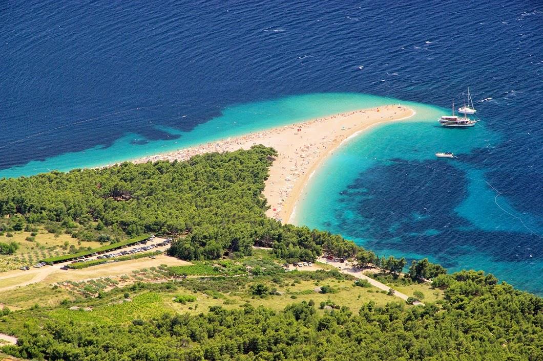 Zlatni Rat, Brac Island (Croatia)