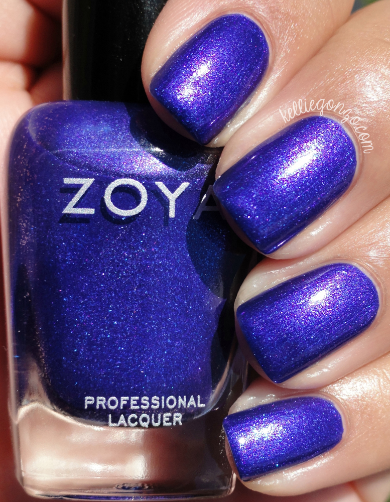 KellieGonzo: Zoya Summer 2015 Paradise Sun Collection Swatches & Review