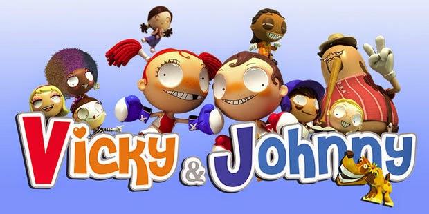 Gambar Kartun Vicky And Johnny