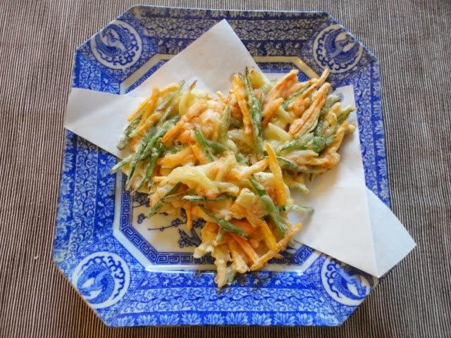 Ma vraie cuisine japonaise friture de l gumes kakiage - Ma vraie cuisine japonaise ...