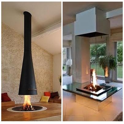 Chimeneas proporcionan calor y decoran tu hogar decoraci n - Tipos de chimeneas de lena ...