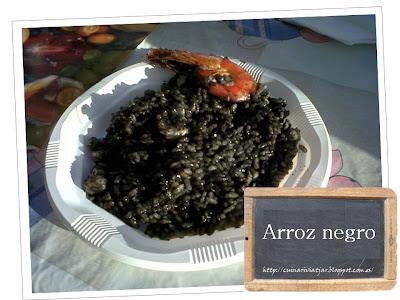 Arroz negro receta cómo preparar