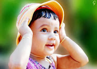 Kids Pictures cute babies Wth Cap cute baby