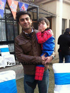 Fawad Afzal Khan son