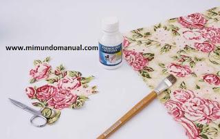 Entre lanas hilos telas y agujas porta toalla con latas - Servilletas de papel decoradas para manualidades ...
