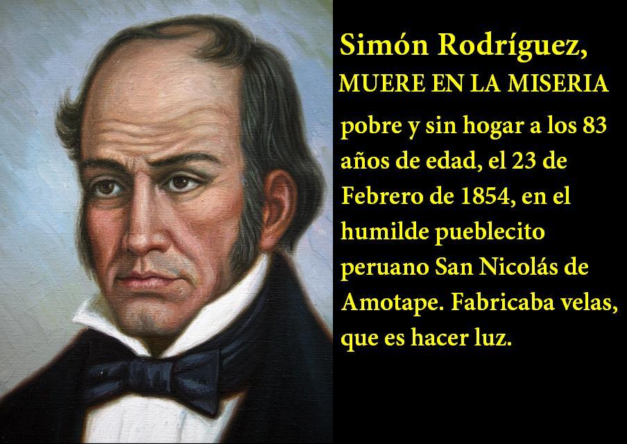Quienes Fueron Los Dos Maestros De Simon Bolivar
