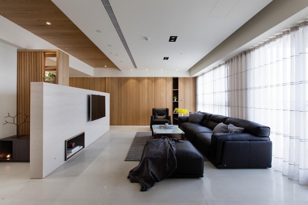 8 s per fotos de decoraci n de salas minimalistas for Colores de paredes minimalistas