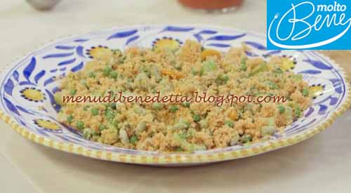 Couscous bloody mary ricetta Parodi per Molto Bene su Real Time