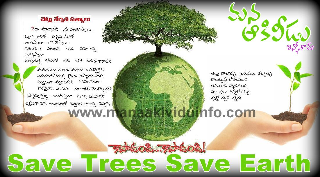 save mother earth essays