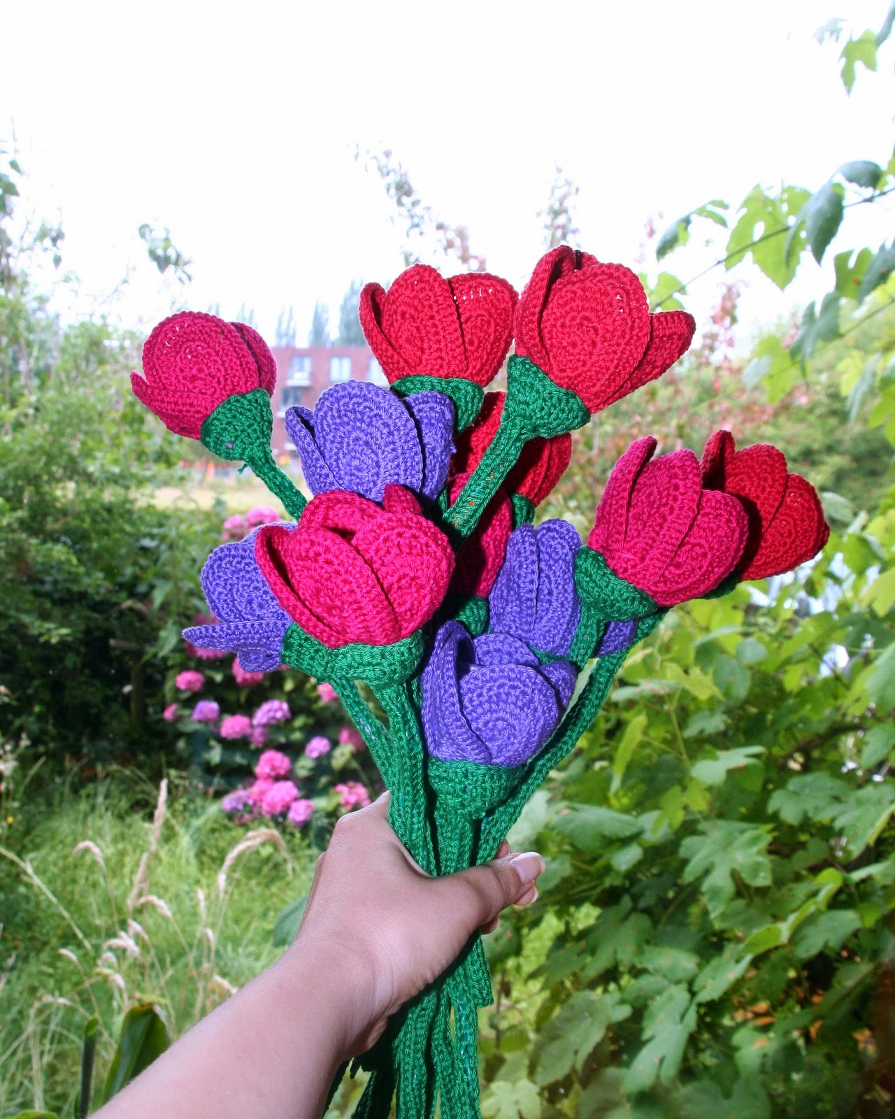 Annabel Helena Crochet Flowers