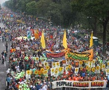 People's Climate March, NYC, September 21 2014.