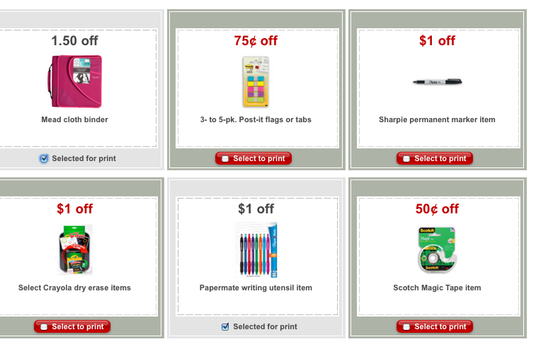 My Memphis Mommy Hot Target Coupons