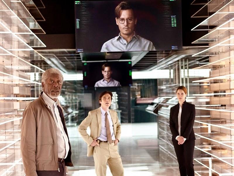 transcendence, inteligencia artificial, paul bettany, morgan freeman, el zorro con gafas