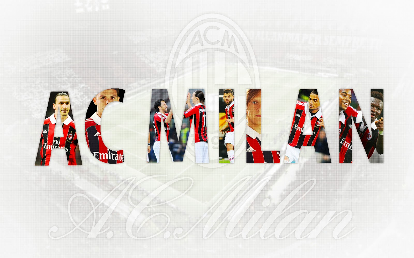 AC Milan Football Club Wallpaper | Football Wallpaper HD