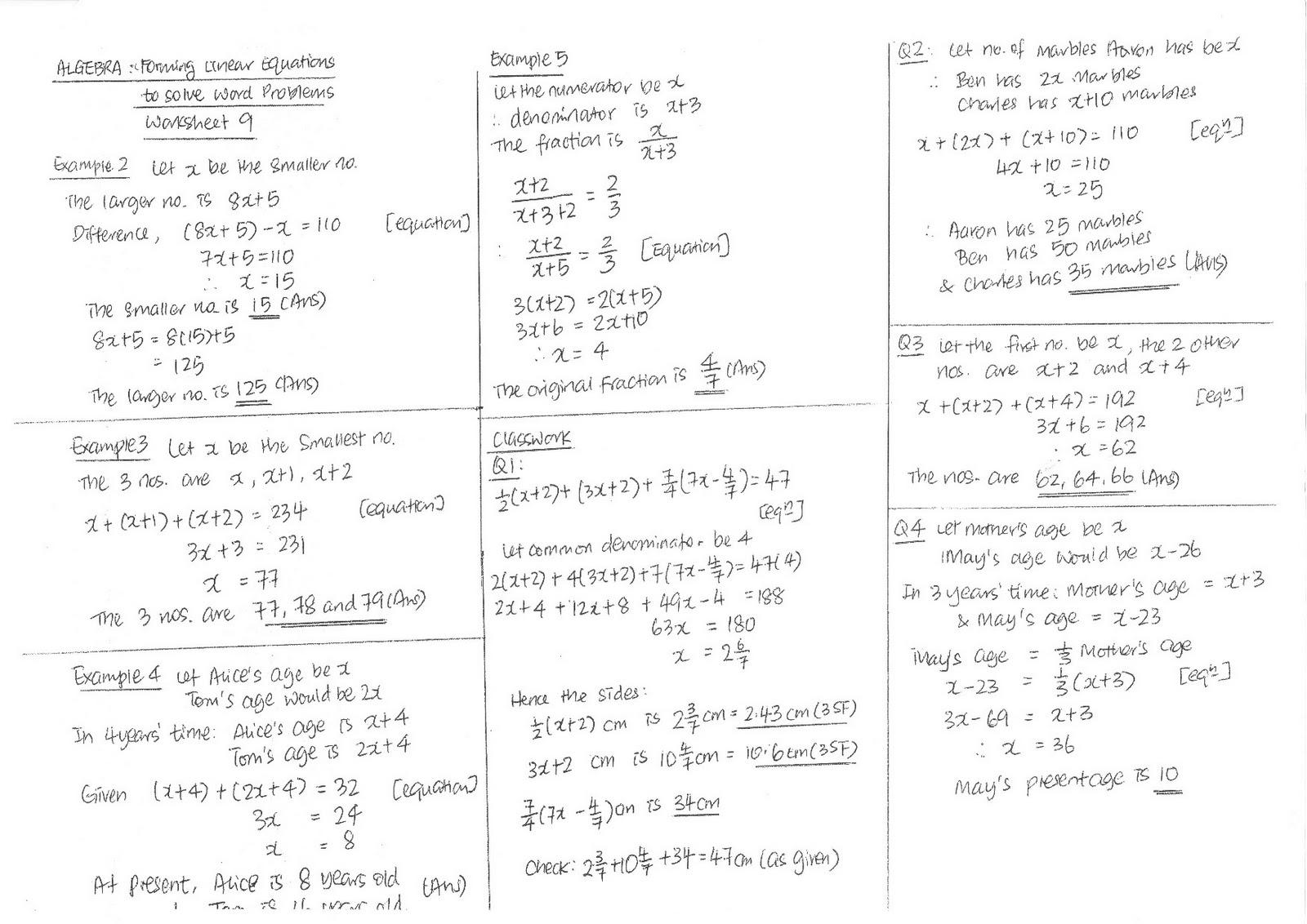 2011 S1-06 Maths Blog