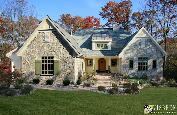 French Country Home Plans One Level