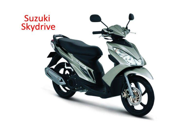 Tropicana Motorworld Suzuki Sky Drive