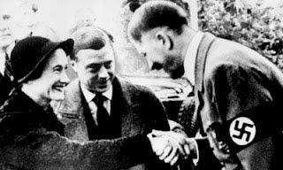 King Edward VIII and Wallis Simpson with Adolf Hitler