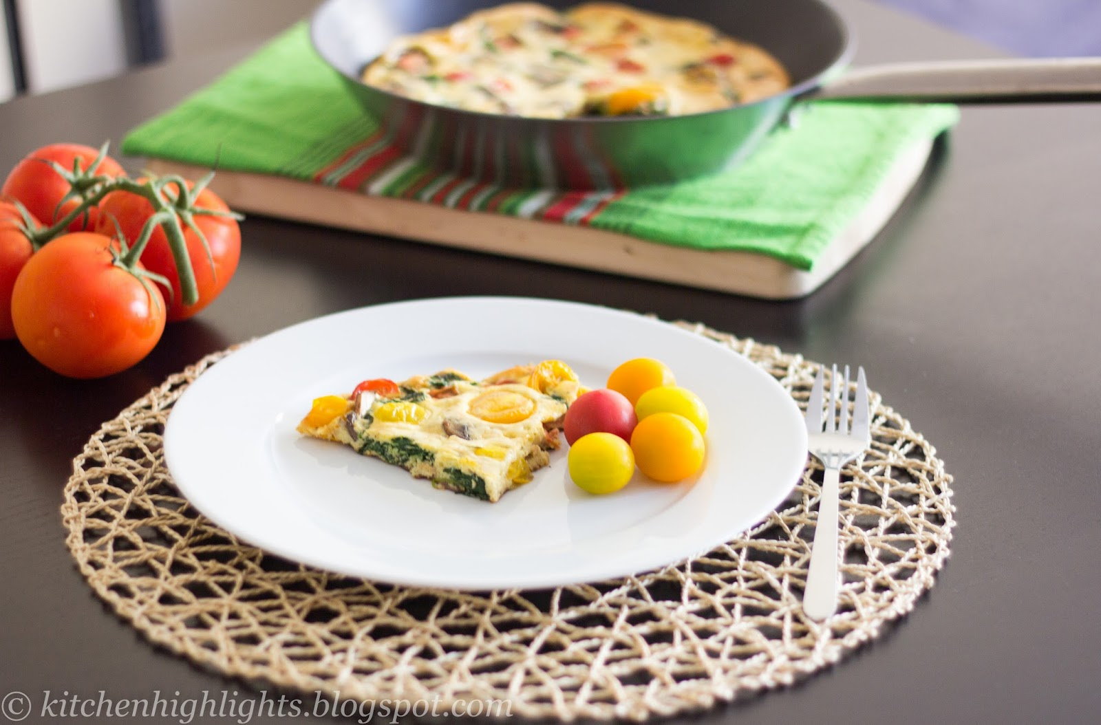 Frittata is a delicious Italian dish in which the egg is the main ingredient
