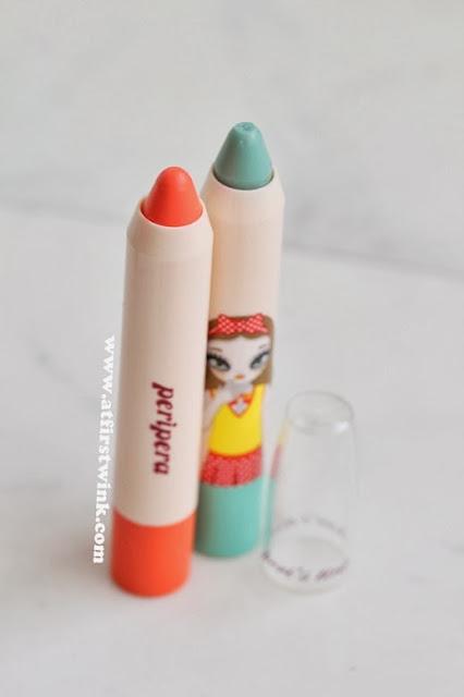 Peripera peri's tint lip crayons