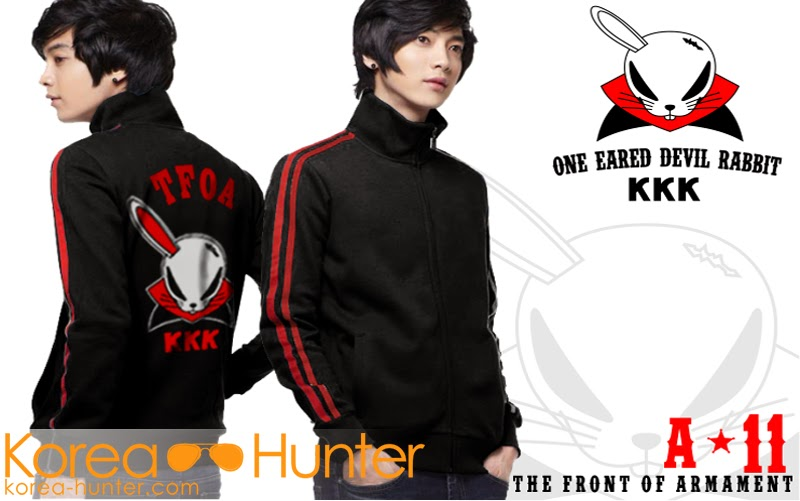 KOREA-HUNTER.com jual murah Jaket One Eared Devil Rabbit 'KKK' | kaos crows zero tfoa | kemeja national geographic | tas denim korean style blazer