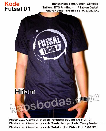 Kaos Futsal 01