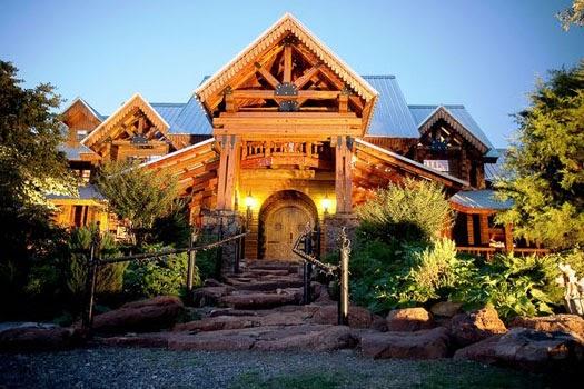 The Konformist Blog 4 Million Log Cabin In Texas