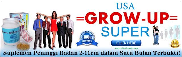 Grow Up Super USA Original - Suplemen Peninggi Badan Paling Bagus Terbukti Cepat