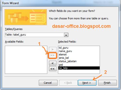 Tutorial Microsoft Access Cara Membuat Form di Ms Access