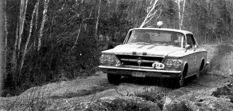 Road Rallying The 1963 Chrysler 300 Phscollectorcarworld