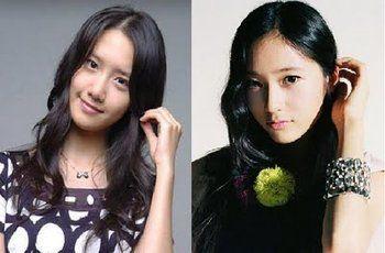 Jazz mocha: Korean celebrities look alike Krystal Jung And Yoona Look Alike