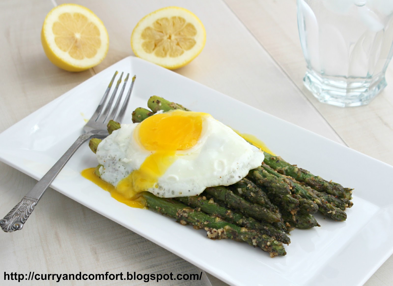 Asparagus With Fried Egg And Parmesan Cheese Recipes — Dishmaps