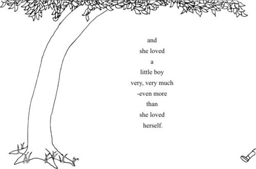 And She Loved a Little Boy the Giving Tree