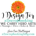 Design Team Coordinator for a2z Scrapbooking Supplies