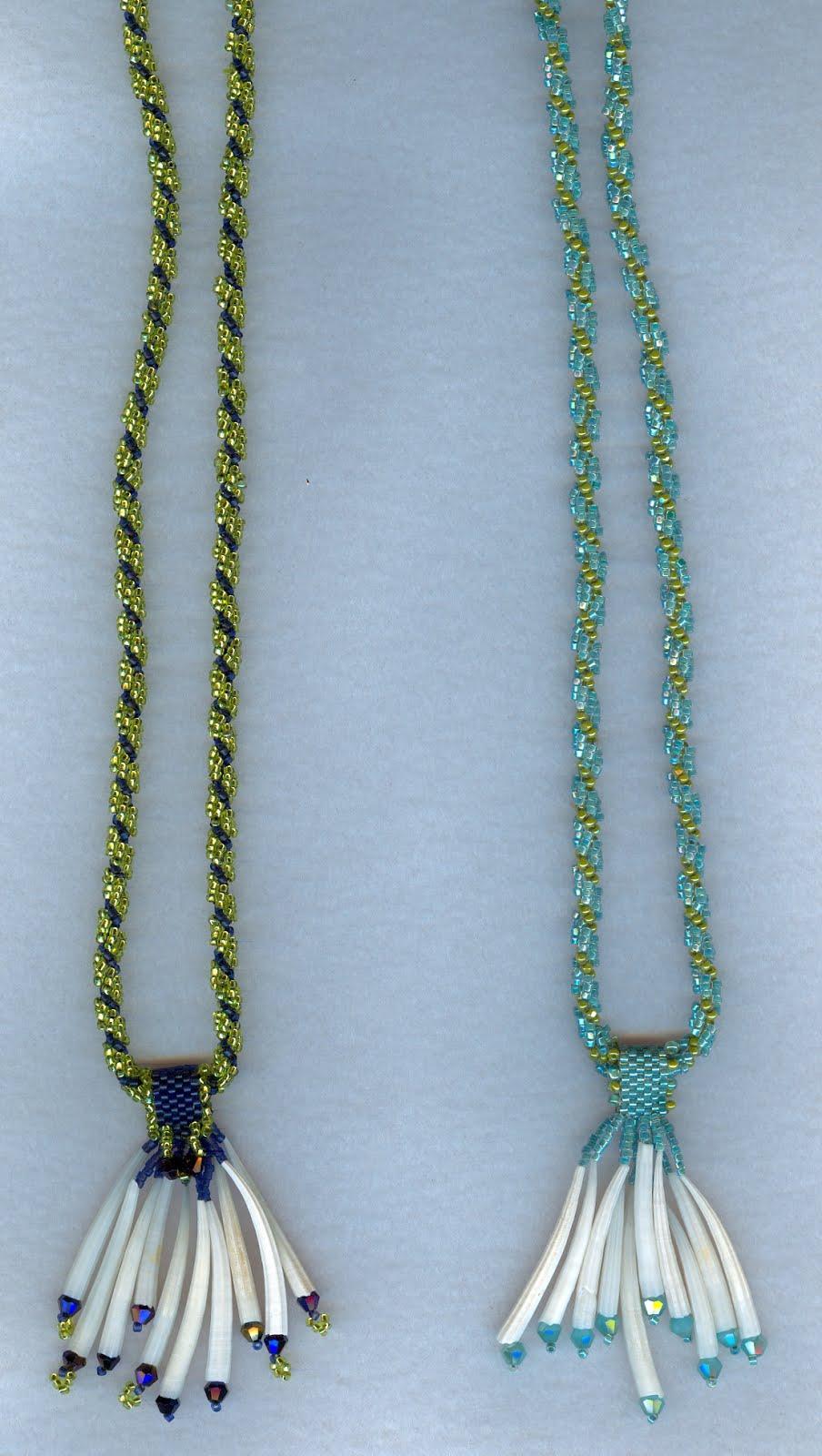 dentillium necklaces