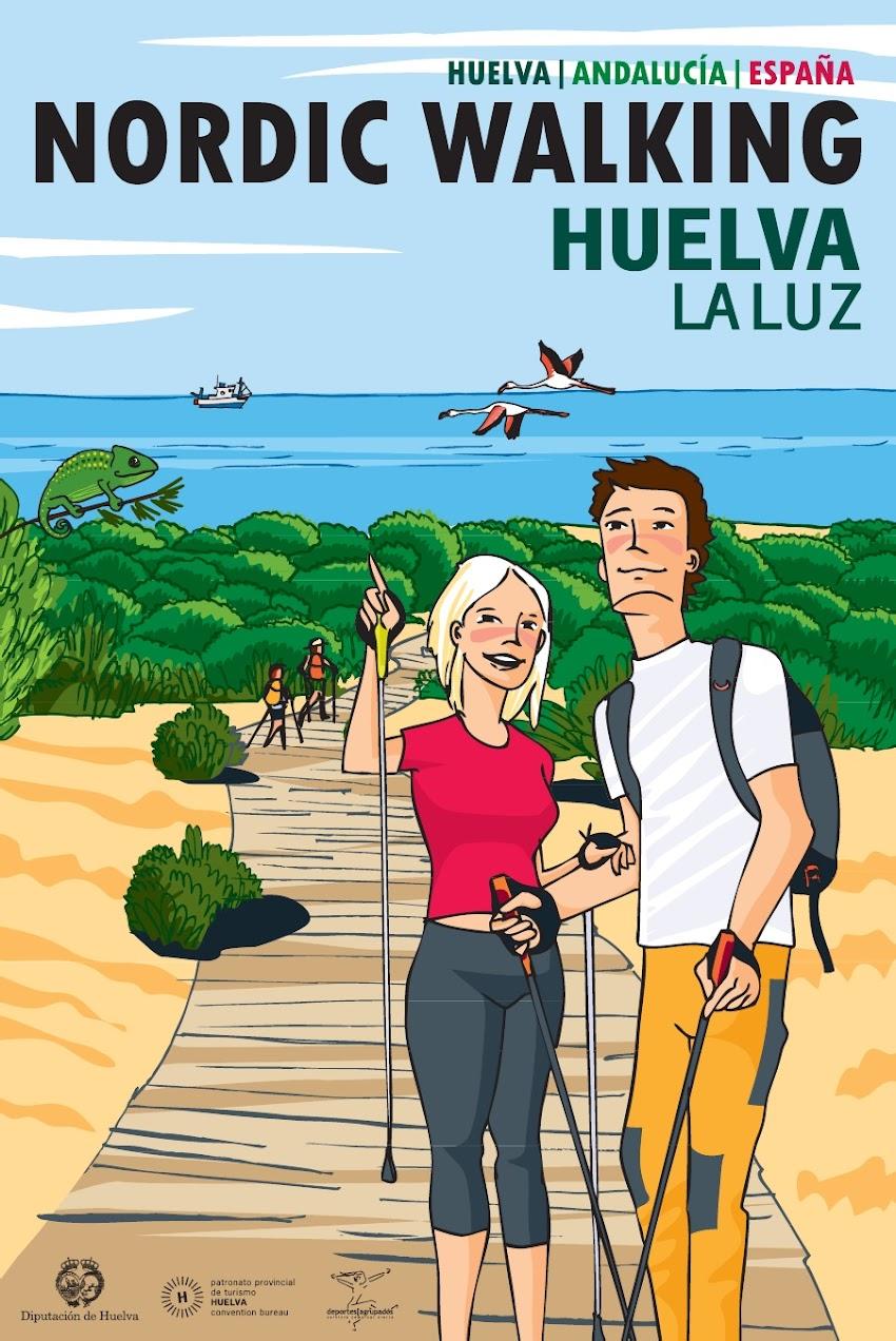 CURSO NIVEL 1 Y DE HOTELEROS DE NORDIC WALKING PUNTA UMBRÍA
